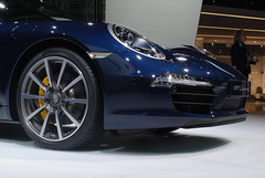 porsche panamera(0.0), automobile(1.0), automotive exterior(1.0), wheel(1.0), vehicle(1.0), performance car(1.0), automotive design(1.0), porsche(1.0), rim(1.0), auto show(1.0), bumper(1.0), land vehicle(1.0), luxury vehicle(1.0), supercar(1.0),