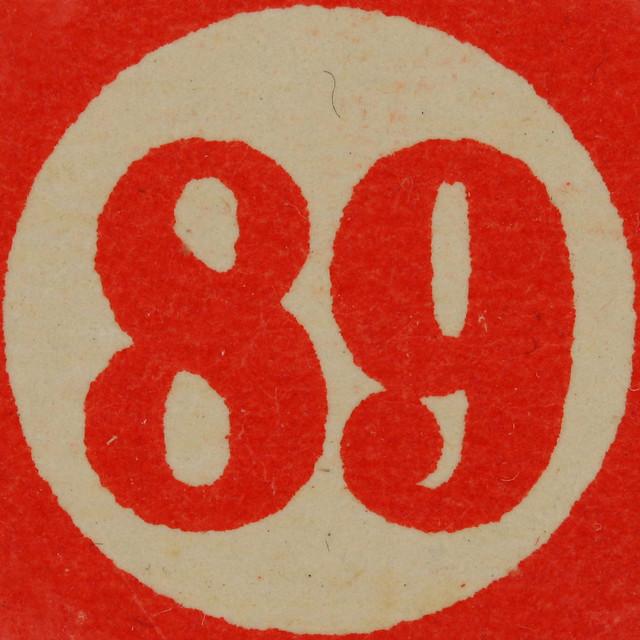 Cardboard Bingo Number 89 | Flickr - Photo Sharing!