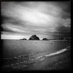A rock on the horizon
