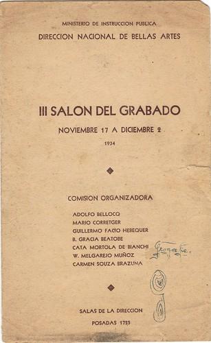 III Salon del Grabado