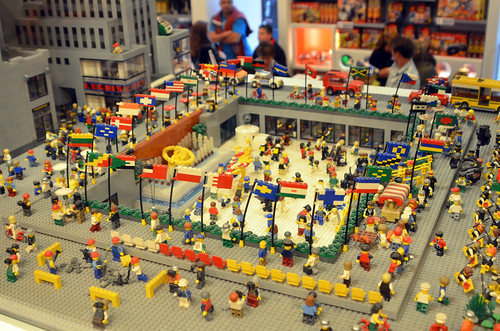 Rockefeller Center In LEGOs :)