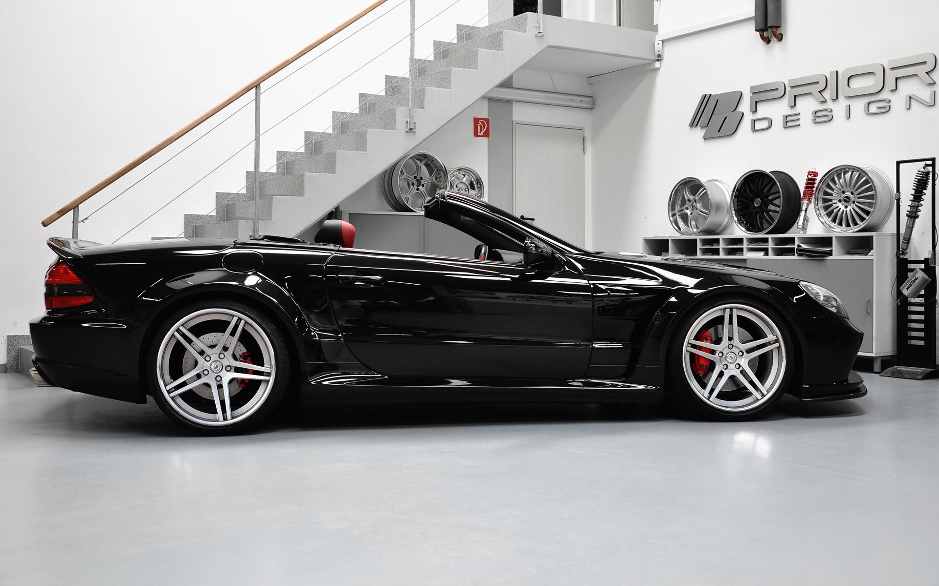 Mercedes benz sl black series conversion facelift for Mercedes benz sl series