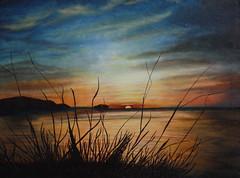 Sunset in Chuuk