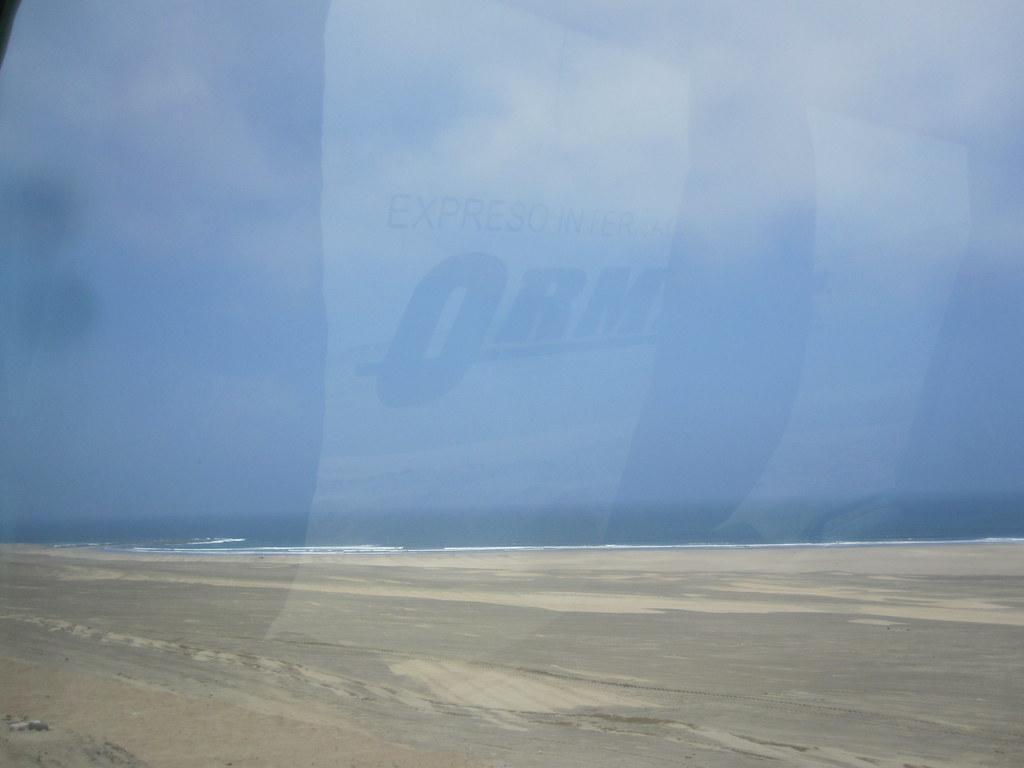 Peruvian Desert Meets Ocean