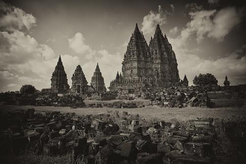 Prambanan, Java, Indonesia. by Demis de Haan