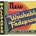 Washable, Fadeproof