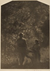 Autumn-Miss Larson Dancers, 1914-24, by Clarence H. White