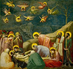 Lamentation, The Mourning of Christ, Scrovegni Chapel, by Giotto