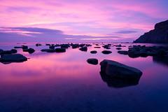 Saltwick Bay Sunrise - Landscape