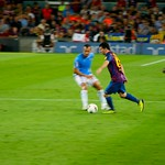 Lionel Messi: Like there is no defence