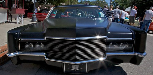 auto show old black 1969 car town spring texas run cadillac rod 69 lonestar caddy