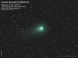 Comet Garradd on Sep 25, 2011