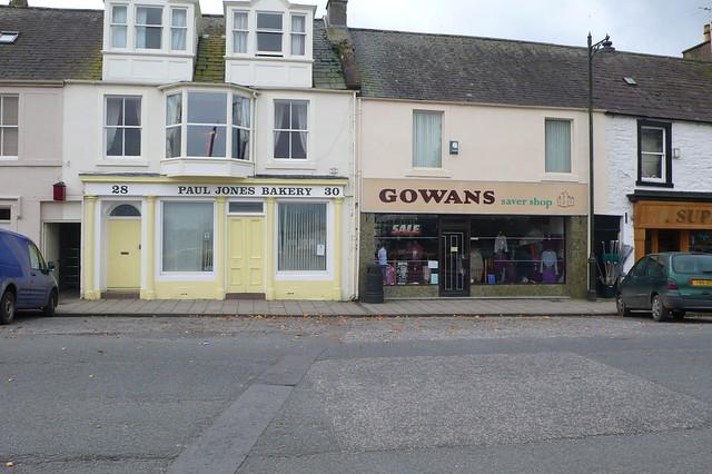Shops, Kirkcudbright