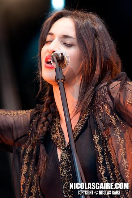 Camelia Jordana @ Festival les Muzik'Elles , Meaux | 24.09.2011