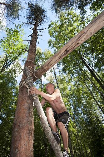 Luonnollisen liikkumisen leiri, Lohjansaari 08/2011