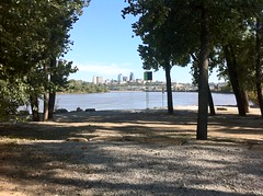 Stage at Kaw Point Park