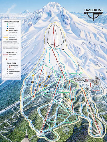 Timberline Map