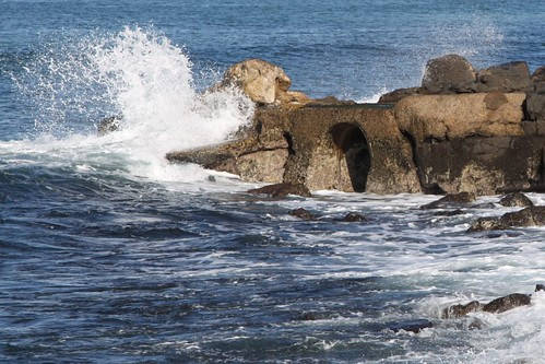 Geelong's original sewage outfall at Black Rock