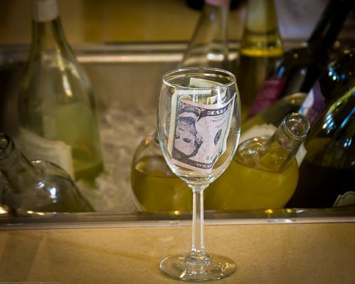 Tip Wine Glass
