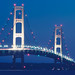 Mackinac Bridge Blues by pixelmama