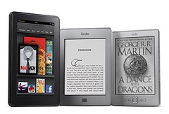 Kindle Fire, Kindle Touch e Kindle