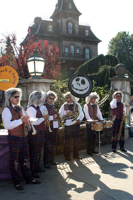 The Crypt Quintet play at the Phantom Manor