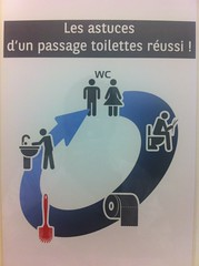 Life in office : tutorial for toilets
