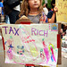Tax the Rich - Occupy Wall Street by Rachel Citron