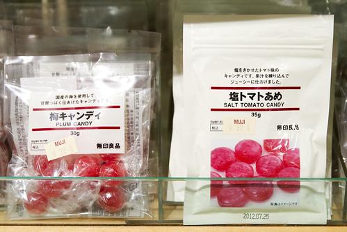 Salt tomato candy
