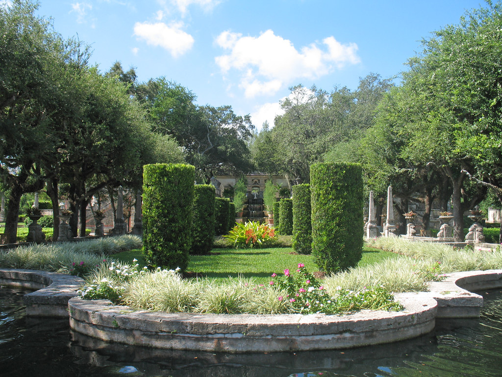 Vizcaya Museum And Gardens Miami Florida A Photo On