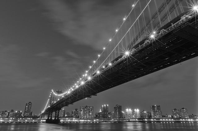 Manhattan Bridge Starbursts