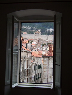Ventana en Dubrovnik