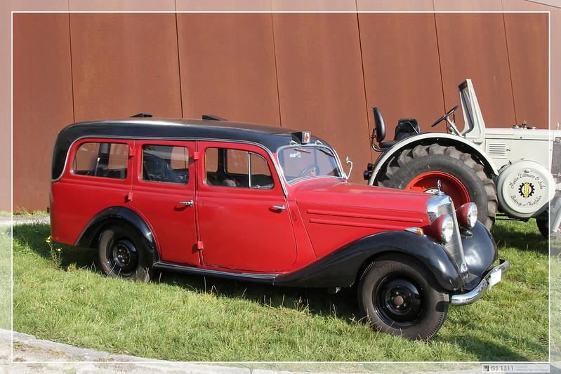 Mercedes benz w 136 1946 for 1946 mercedes benz