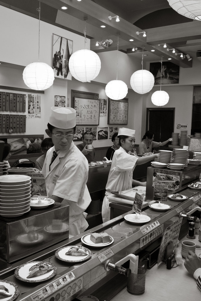 turning kaiten sushi dreams