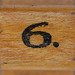 rubber stamp handle number 6