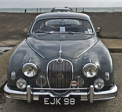 executive car(0.0), jaguar xk140(0.0), jaguar mark ix(0.0), bmw 501(0.0), mid-size car(0.0), jaguar xk150(0.0), sports car(0.0), automobile(1.0), daimler 250(1.0), jaguar xk120(1.0), jaguar mark 2(1.0), vehicle(1.0), automotive design(1.0), jaguar mark 1(1.0), mitsuoka viewt(1.0), antique car(1.0), vintage car(1.0), land vehicle(1.0), luxury vehicle(1.0), jaguar s-type(1.0),