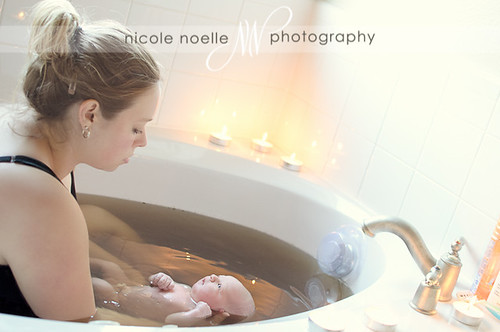 herbal bath | The Woodlands Birth Photography - http://www.HoustonBirthPhotographer.com