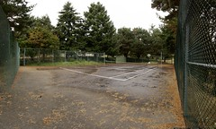 tennis / basketball court on a 25 acre property for …
