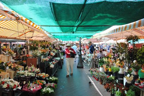 Marche aux Fleurs, Cours Saleya (Source: zawtowers)