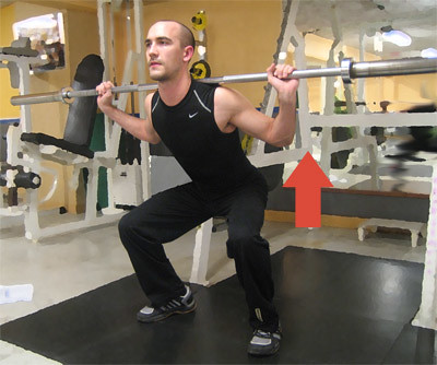Squats Type 2 -close legs - Smala knäböj, Strength Training (Styrketräning)