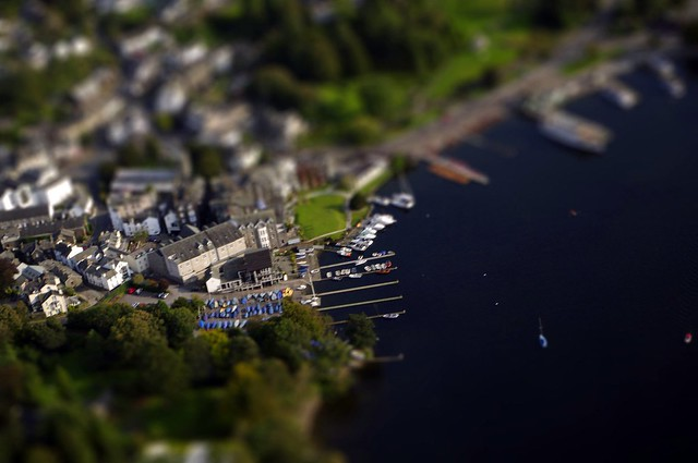 Bowness on Windermere - Tiltshift