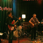Wed, 21/09/2011 - 8:15pm - Mark Olson, Gary Louris, Karen Grotberg, Tim O'Reagan and Marc Perlman, at Electric Lady Studios in NYC for an audience of WFUV members. Hosted by Darren DeVivo. Photo by Laura Fedele