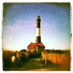 Fire Island Lighthouse. Taken on the last day of summer 2009 (iPhone 3GS)