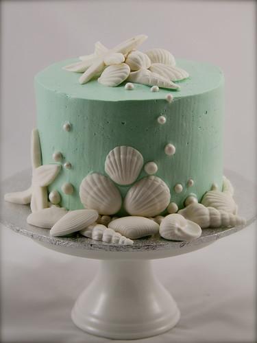 Sea Shell Cake