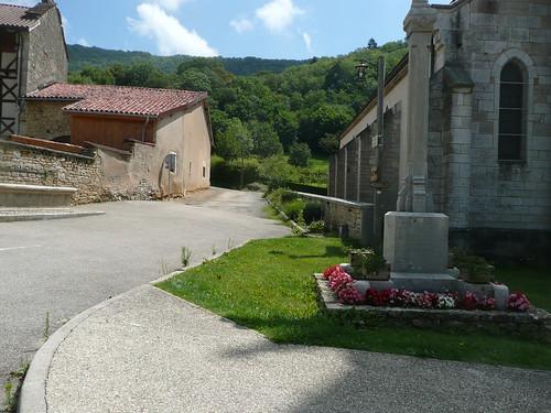 Cuisiat, Rhone-Alpes, France  (On a Sunday.)