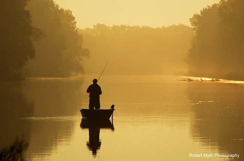 ohio water silhouette yellow sunrise golden boat fishing resthaven castaliaohio nikond7000