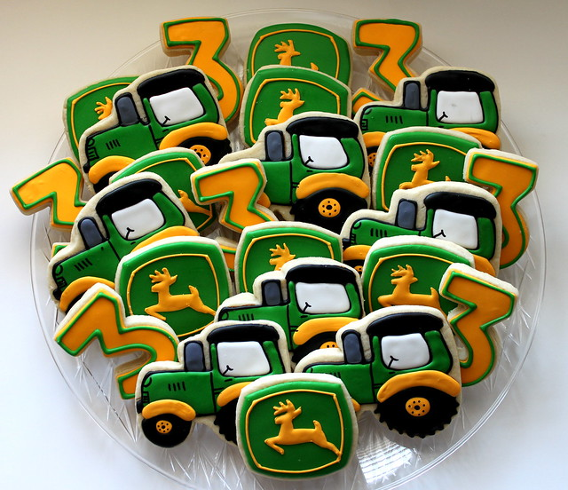 John Deere Cookie Platter Flickr Sharing