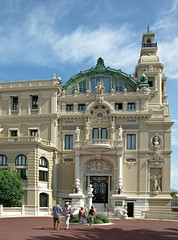 Monaco Monte-carlo - Opéra, ingresso artisti