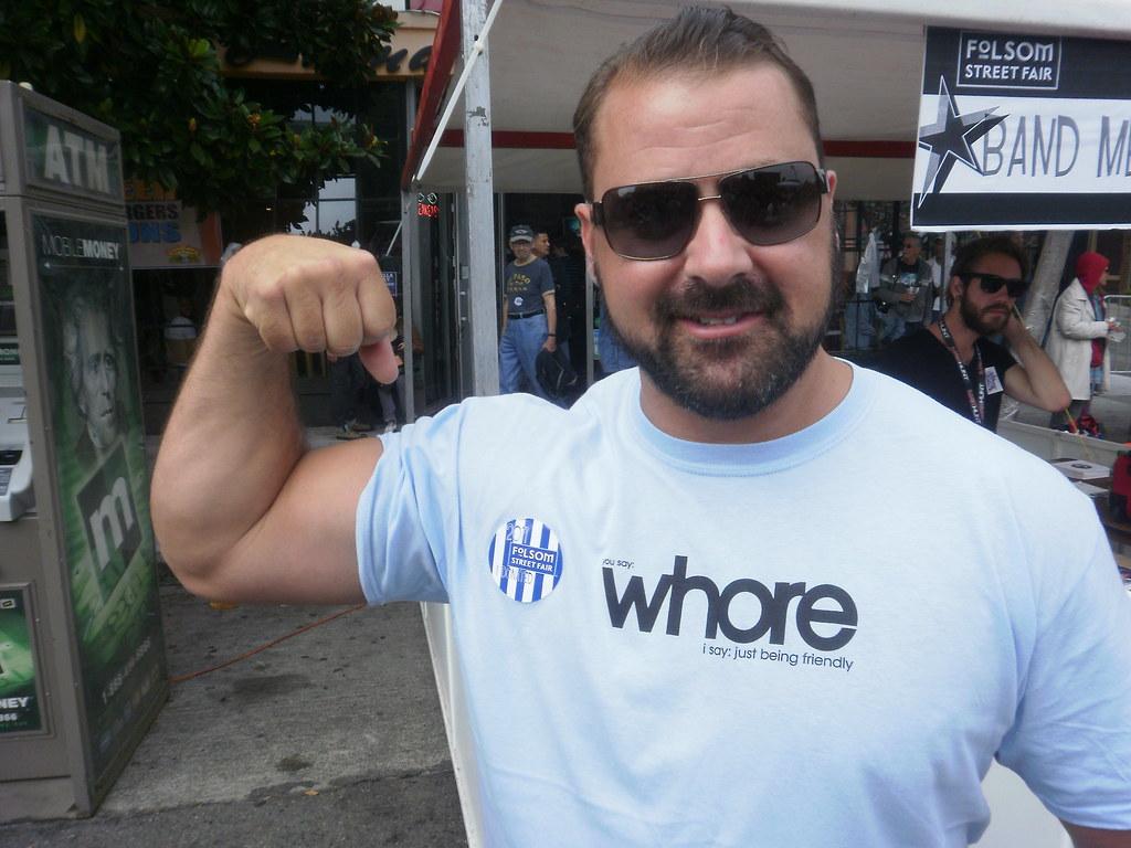 FOLSOM STREET FAIR 2011 --MAJOR WOOF BEARDED HUNK ! ( safe photo )