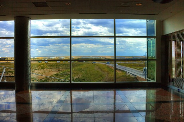 (Terminal A - Denver International Airport) A hard teacher